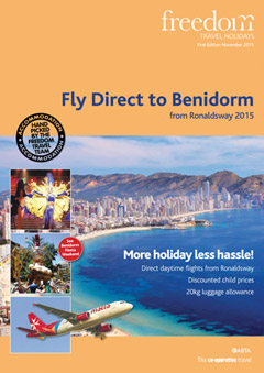 Fly Direct to Benidorm